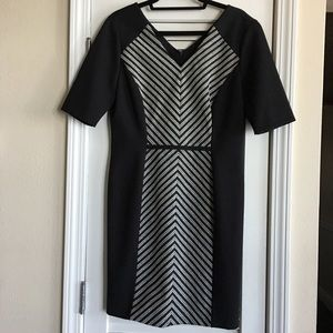 Antonio Melani Black & White Dress SZ 10